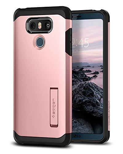 Spigen Tough Armor Designed for LG G6 Case (2017) / Designed for LG G6 Plus Case (2017) - Rose Gold (G3 Phone Lg Gold Case)