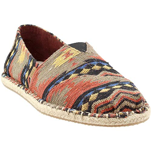 (TOMS Men's Venice Collection Alpargata Inspired Woven Blanket Stitch On Rope 8.5 D US)