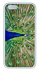 iPhone 4 4S Case, iCustomonline Beautiful Peacock Case for iPhone 4 4S by runtopwell