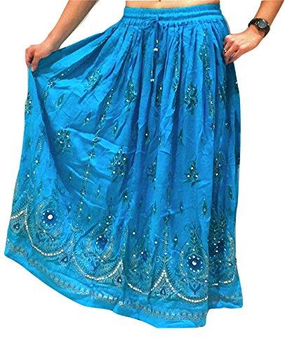 Dancers World Ltd (UK Seller) - Falda - para mujer TURQ