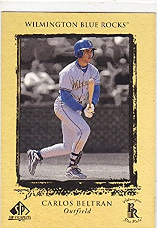1999 Sp Top Prospects Carlos Beltran Rookie Card At Amazon S
