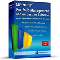 Mprofit Pro Portfolio Management and Accounting Software 1 PC 1 Year(CD)