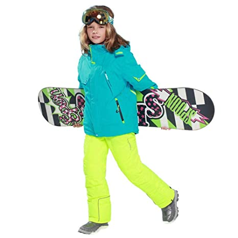 Childrens ski wear Niños/Niñas De Esquí Traje Pantalón ...