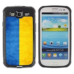Suave TPU GEL Carcasa Funda Silicona Blando Estuche Caso de protección (para) Samsung Galaxy S3 III I9300 / CECELL Phone case / / National Flag Nation Country Ukraine /