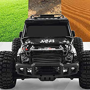 KRCT 1/10 Oversize Remote Control Car 4X4 Powerful Big Foot Off Road Truck 2.4GHz Radio Control 40km/h High Speed RC…