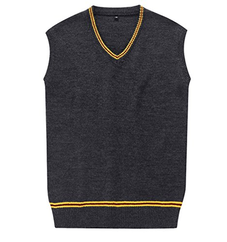 Cosplay Costumes Mens Womens Fall and Winter Sweater Cardigan Vest Waistcoat