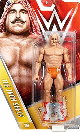 IRON SHEIK - WWE SERIES 59 MATTEL TOY WRESTLING ACTION FIGURE by (Wwe Mattel Iron Sheik)