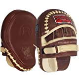 Ringside Heritage Panther Punch Mitts, 15-Ounce, Tan