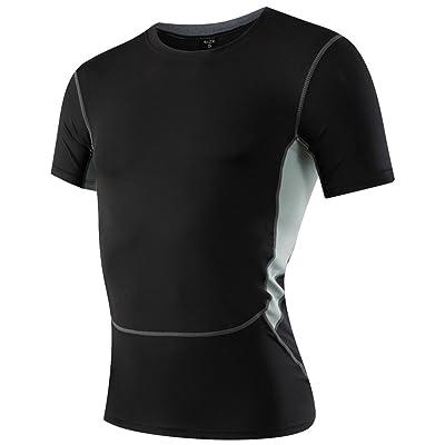 T-Shirt De Compression Manches Courtes Homme Tight Base Layer