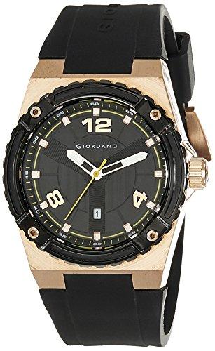 Giordano Analog Black Dial Men's Watch – A1020-04
