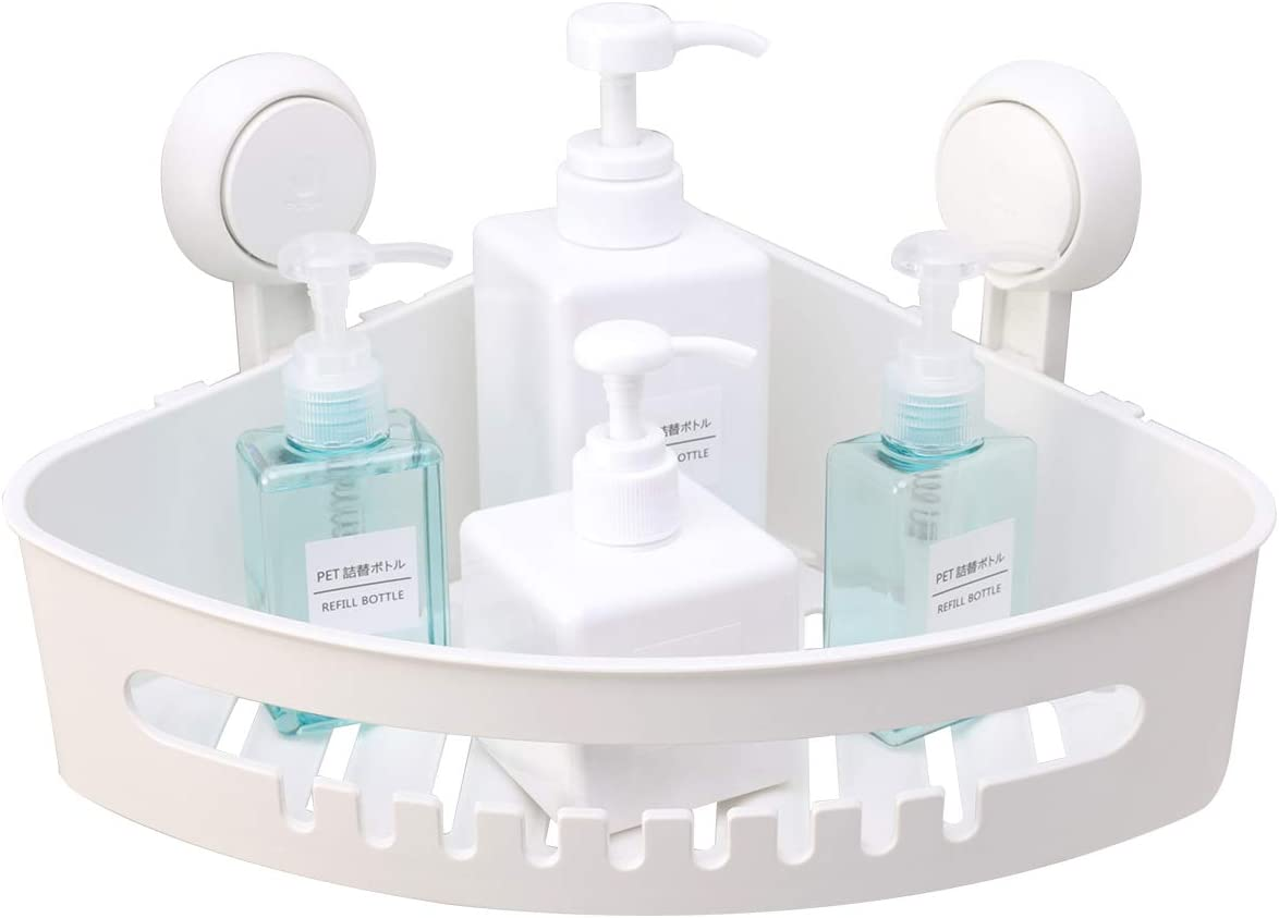 Amazon coupon code for Suction Corner Shower Caddy Bathroom