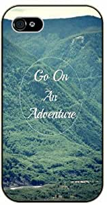 Go on an adventure - Green forest - Adventurer iPhone 5 5s Black plastic case
