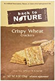 Back To Nature Crackers, Crispy Wheat, 8 Ounce
