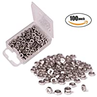 Shapenty 100PCS 3mm Small Stainless Steel Female Thread Hex Screw Nut Fastener Tool, M3 from Shapenty