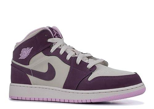 Nike Air Jordan 1 Mid (GS), Zapatillas de Deporte para Mujer, (Pro Purple/Desert Sand/Lt Arctic Pink 500), 40 EU: Amazon.es: Zapatos y complementos