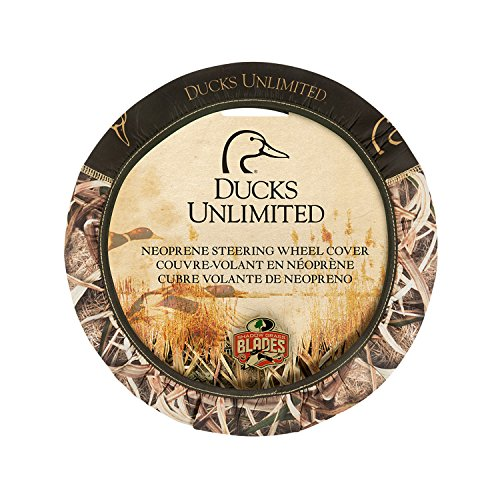 Ducks Unlimited Universal Fit Camo Steering Wheel Cover, Mossy Oak Shadow Grass Blades