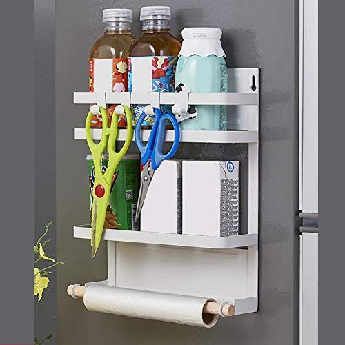 Jannyshop Kitchen Rack Magnetic Refrigerator Storage Organize by Jannyshop (Image #2)