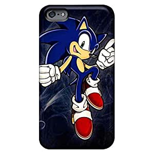 Designed cell phone covers New Snap-on case cover covers protection iphone 5 / 5s - sonic the hedgehog