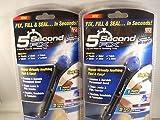 5 Second Fix RA-5500 Liquid Plastic Welding Kit, Pack of 2