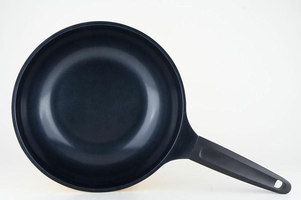 DARNA Toscana-Wok con revestimiento de cerámica con tapa 28 cm: Amazon.es: Hogar
