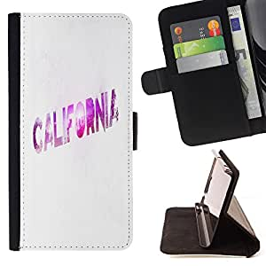 - California Summer Funny - - Style PU Leather Case Wallet Flip Stand Flap Closure Cover FOR HTC Desire 820 - Devil Case -