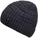 Spikerking Mens Winter Knitting Wool Warm Hat Daily Slouchy hats Beanie Skull Cap