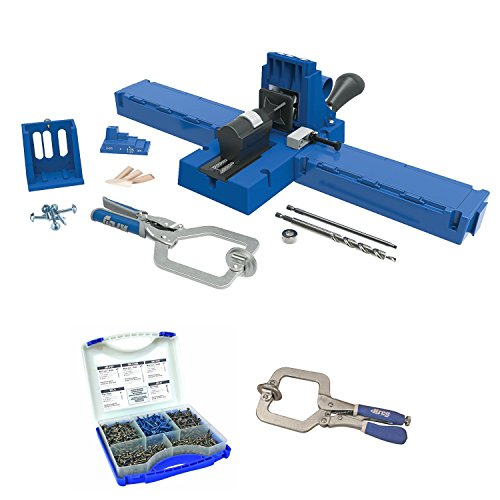 Master Clamp (Kreg K5MS K5 Master System With Screw Kit and Face Clamp)