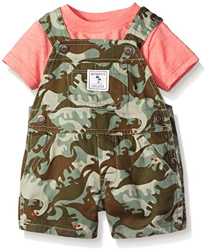 The Children's Place Baby Dino Shortall, Capers, 0-3 Months