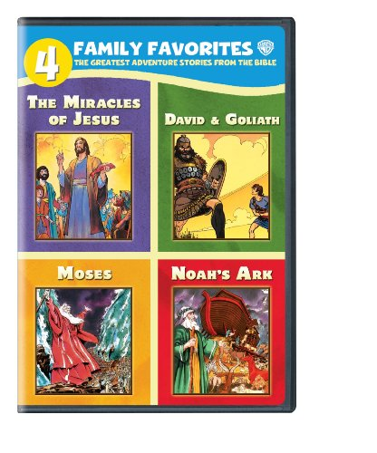 4 Family Favorites: Greatest Adventures of the Bible (Greatest Dvd)
