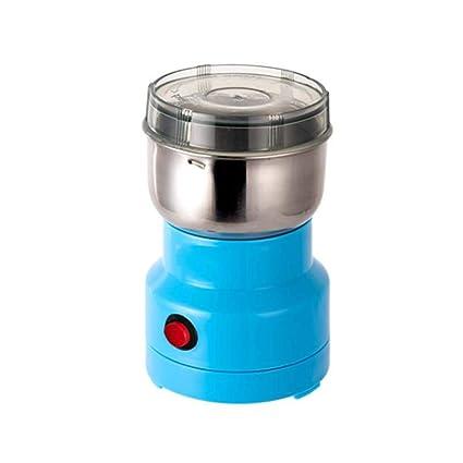 Yang máquina de café Manual- Molinillo de café eléctrico 120 g de Gran Capacidad Nogal