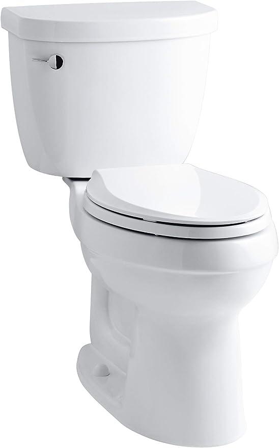 6. Kohler Cimarron Comfort Height Elongated Toilet