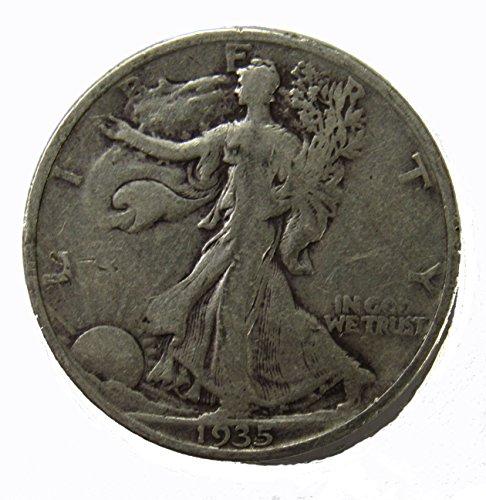 - 1935 P Walking Liberty Half Dollar 50c Very Fine