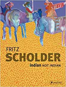 Fritz Scholder : Lithographs by Clinton Adams (1976, Hardcover)