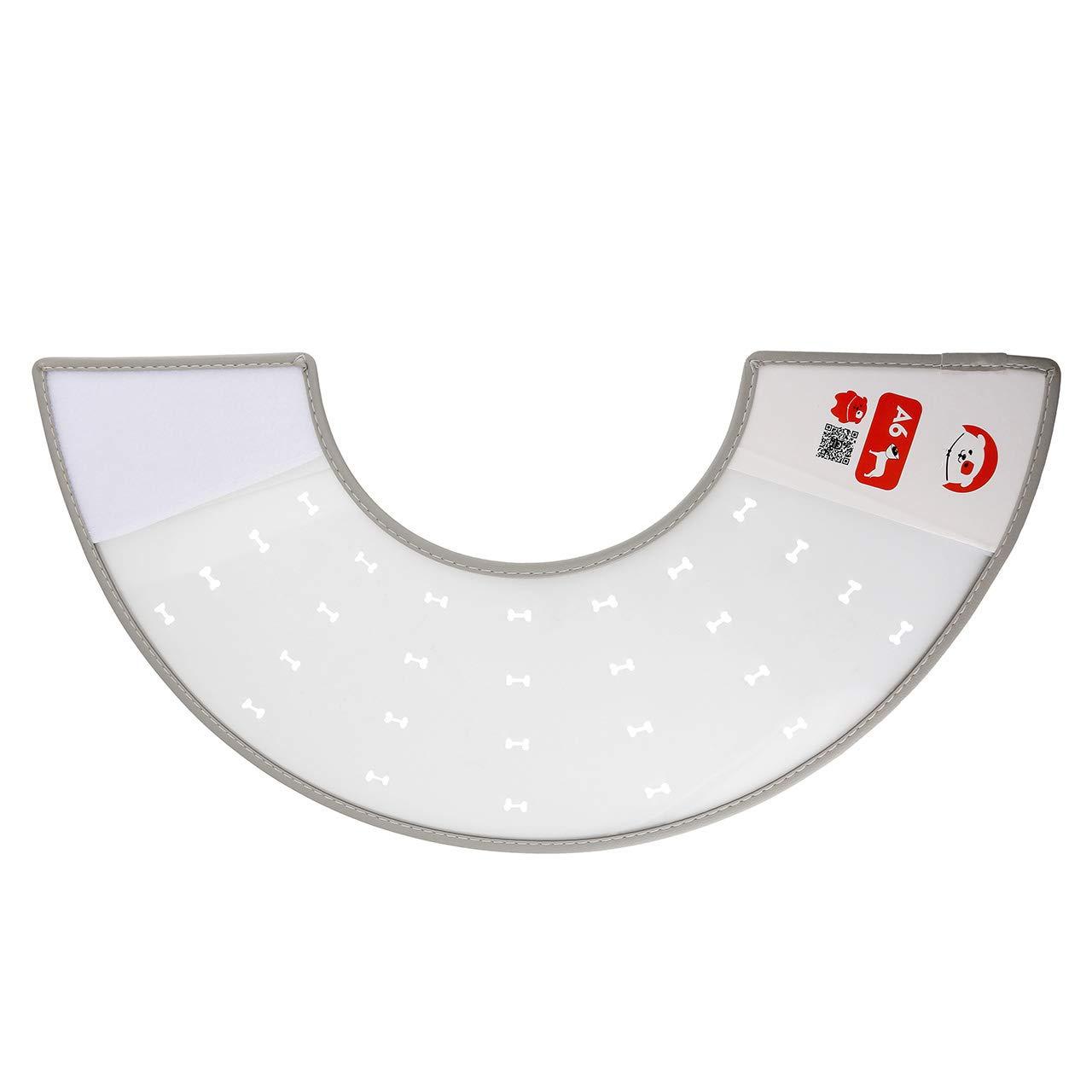 Mogoko Collier Elizabeth Forme cône pour Chien Chat plaie récupération guérison Anti Tique Ou Léchée - Tour de Cou 4.3~5.5 inch MMFR009061