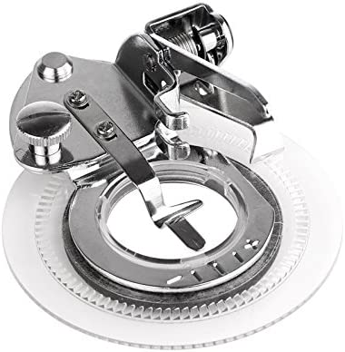 Houkiper Accesorios de costura del pie de Presser de la máquina de coser de la puntada de la flor de la margarita para el Singer, Brother, Babylock, Janome, Kenmore