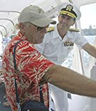 Cropped and color-balanced version of Image:Jimmy Buffet navy.jpg.