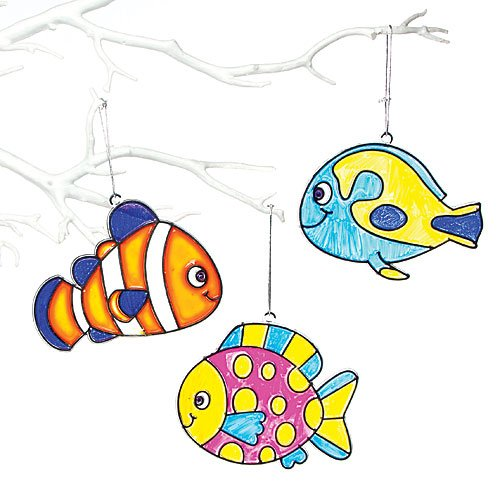 Review Tropical Fish Stained Glass
