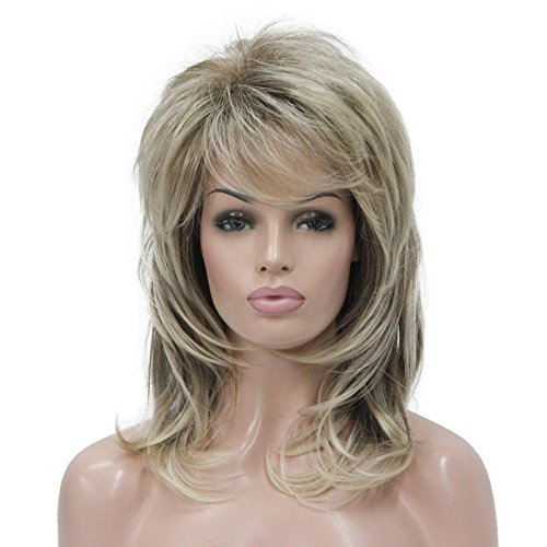 Lydell Long Soft Shaggy Layered Classic Cap Full Synthetic Wig Wigs (#R10-26)