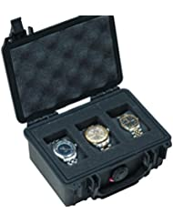 Case Club Waterproof 3 Watch Traveling Case