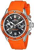 SEAPRO Men's Casual Thrash Black Dial Quartz Watch (Model: SP0331)