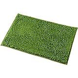 Amazoncom DII Ultra Soft Plush Spa Pebble Chenille Bath Mat Place - Dark green bathroom rugs