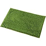 Good Mayshine 20x32 Inch Non Slip Bathroom Rug Shag Shower Mat Machine Washable  Bath Mats With Water Absorbent Soft Microfibers Of   Green
