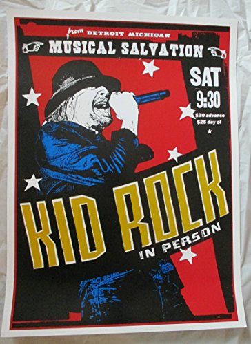 2008 Kid Rock Musical Salvation Rock n Roll Revival Tour