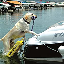 """Boat Ladder For Dogs - Pawz Pet Products Doggy Boat Ladder 64"""" x 16"""" for Easier Access"""