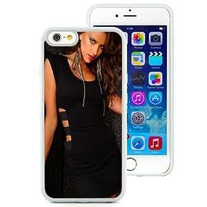 NEW Unique Custom Designed iPhone 6 4.7 Inch TPU Phone Case With Irina Shayk Black Dress_White Phone Case