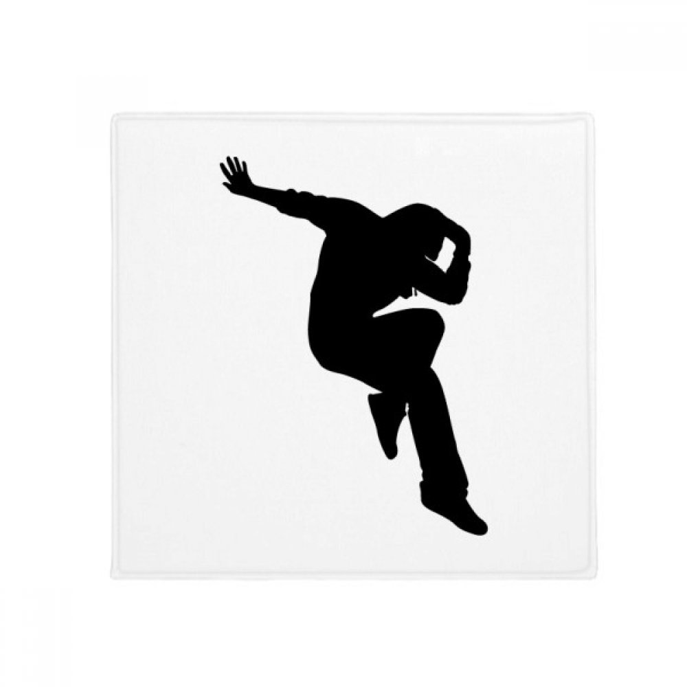 DIYthinker Hip Pop Jumping Performance Dancer Anti-Slip Floor Pet Mat Square Home Kitchen Door 80Cm Gift
