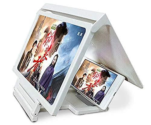 ADDG 3D Pantalla del teléfono Plegable Titular Lupa Celular ...