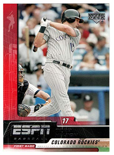 - Todd Helton (Baseball Card) 2005 Upper Deck ESPN # 30 NM/MT