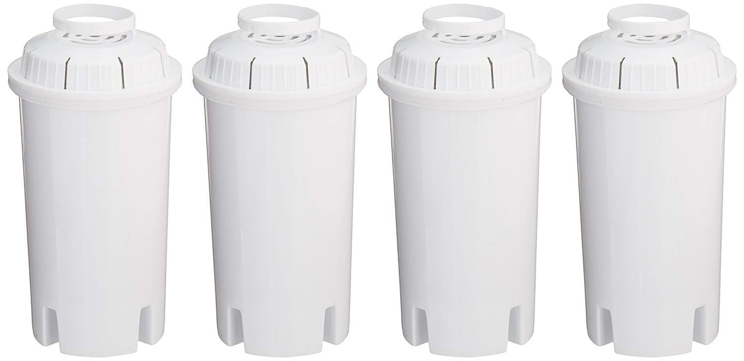 Sapphire Replacement Water Filters, for Sapphire, Brita and Pur Pitchers, 4-Pack by Sapphire