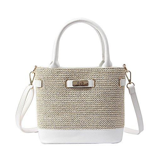 à Femme Weiß Main Sac Rouge Rouge HCXIN zfawg5qn
